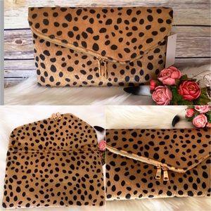 🌺NEW ARRIVAL🌺 Leopard Print Clutch Bag